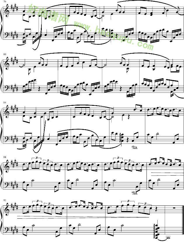 画心 钢琴谱