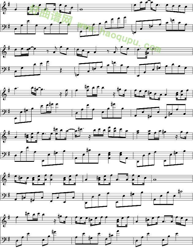 《我的歌声里》钢琴谱第3张