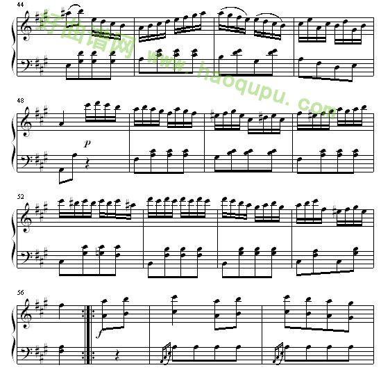 莫扎特麦兜故事 曲谱报错发表评论图片