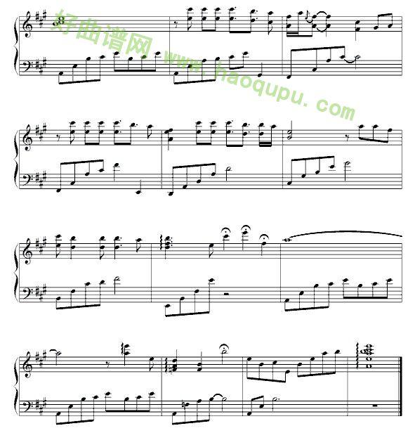penbeat谱子孑然妒火-《如果云知道》钢琴谱简介   《如果云知道》作曲者为许茹芸,是2011