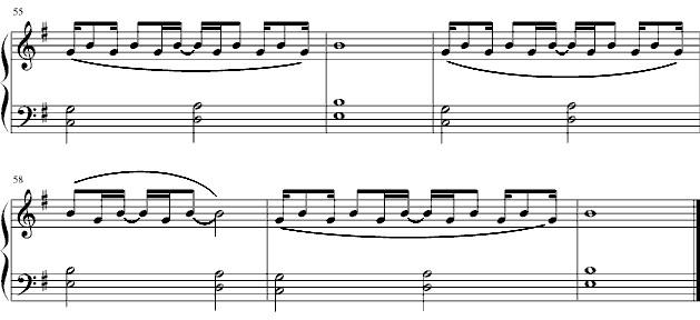 《一吻天荒》钢琴谱