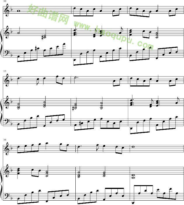 风筝 钢琴谱