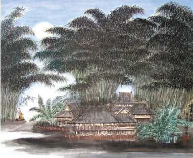 《月光下的凤尾竹》 - 葫芦丝曲谱_葫芦丝简谱_葫芦丝