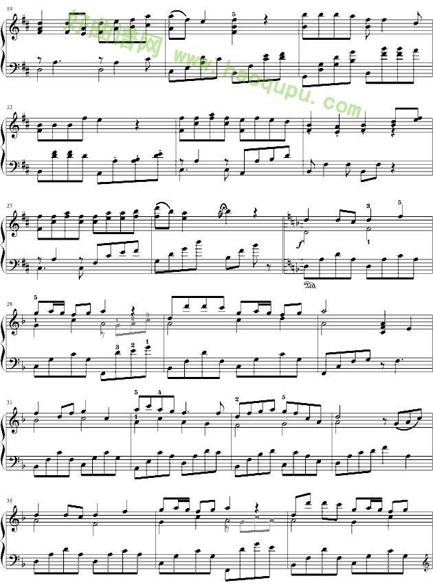 《最炫民族风》钢琴谱第2张