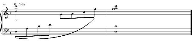 《最炫民族风》钢琴谱第4张