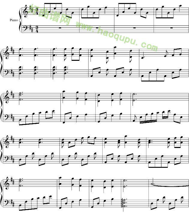 天之天钢琴曲谱-第几个一百天 钢琴谱