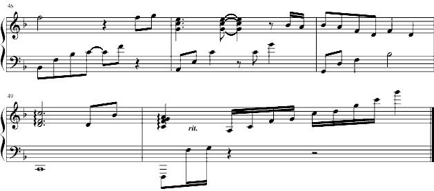 约定 钢琴谱