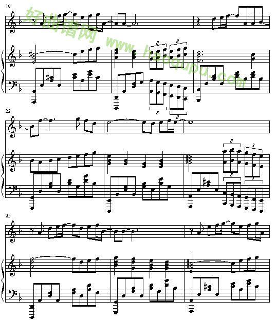 暗香 钢琴谱