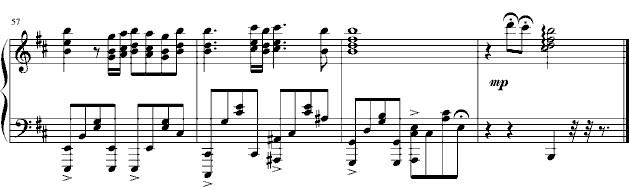 《星星》 - 钢琴谱_五线谱图片