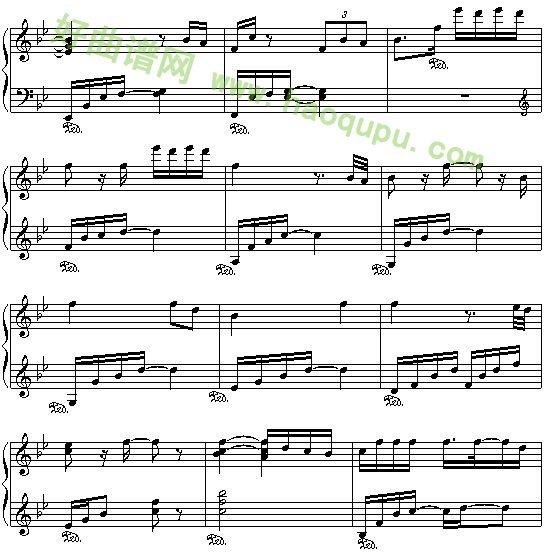 十指连心痛煞人曲谱-《断点》张敬轩的出名代表作,在它的专辑《感觉我》中   《断点》歌