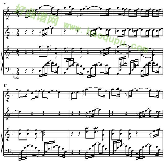 st one last dance 钢琴谱