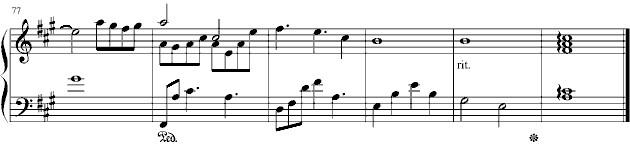 钢琴谱_钢琴曲谱图片