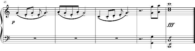 《七子之歌》 - 钢琴谱