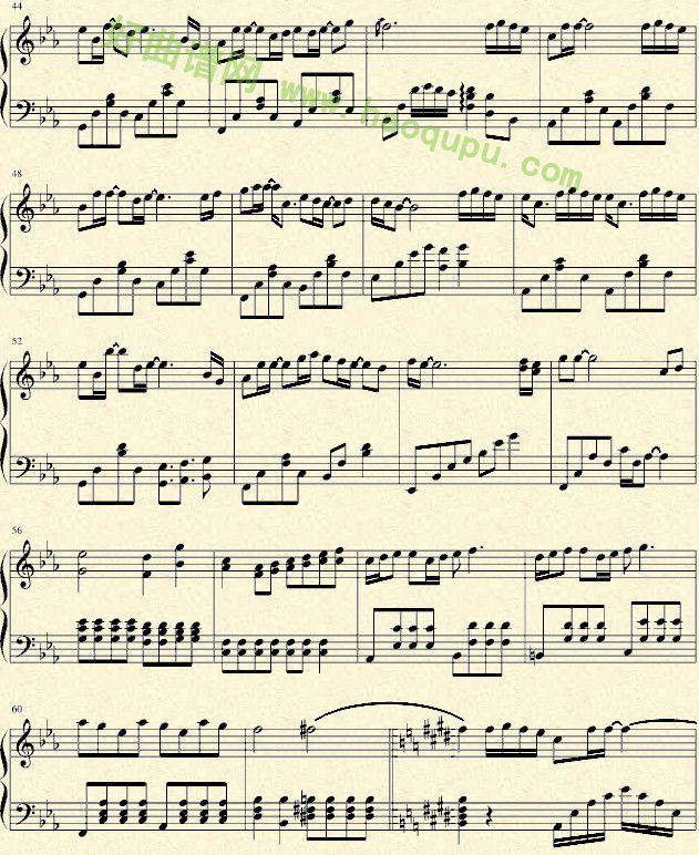 抒情的儿歌钢琴简谱