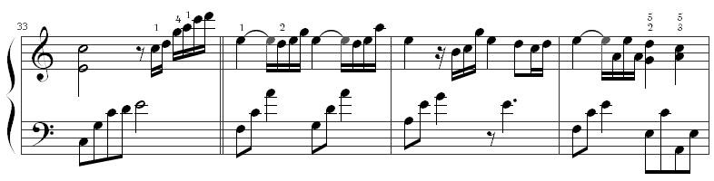 《时间煮雨》钢琴谱第5张