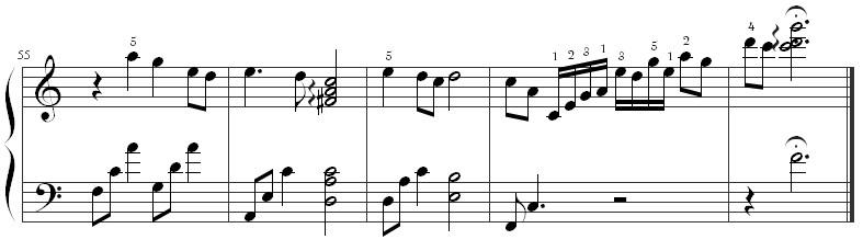《时间煮雨》钢琴谱第8张