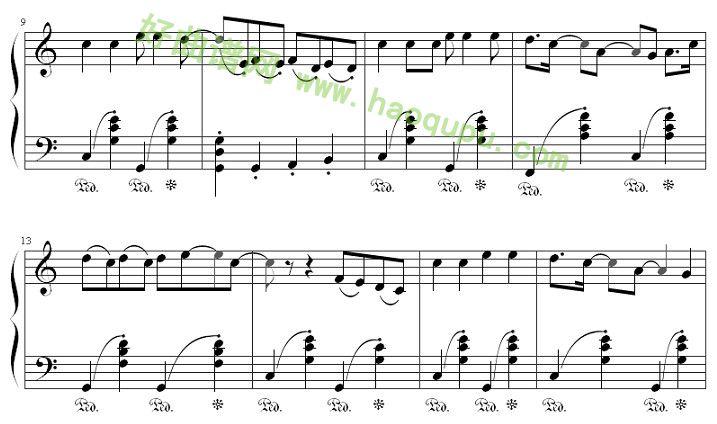 《我还有点小糊涂》 - 钢琴谱图片