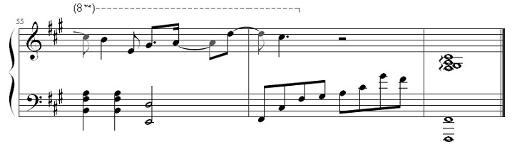 《我好想你》钢琴谱第8张
