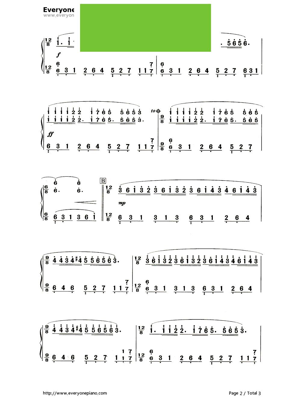 Twinkle Twinkle Little Star钢琴简谱-数字双手-Jewel-琴艺谱