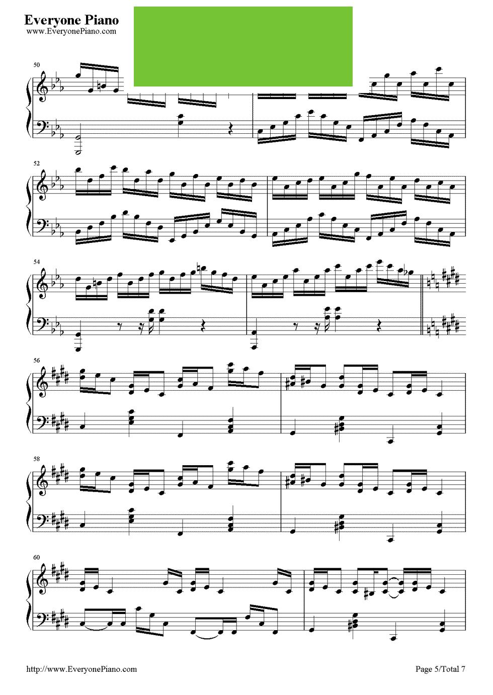 上学歌钢琴曲谱-EOP教学曲 钢琴谱