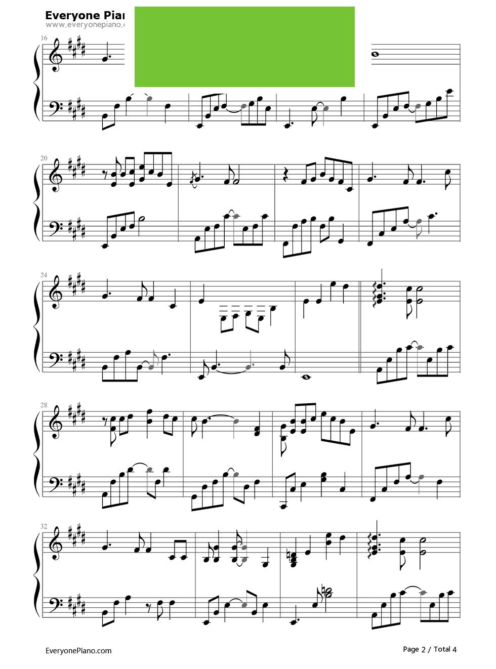 回家的路》(刘德华演唱《失孤》主题曲) 钢琴谱 ...