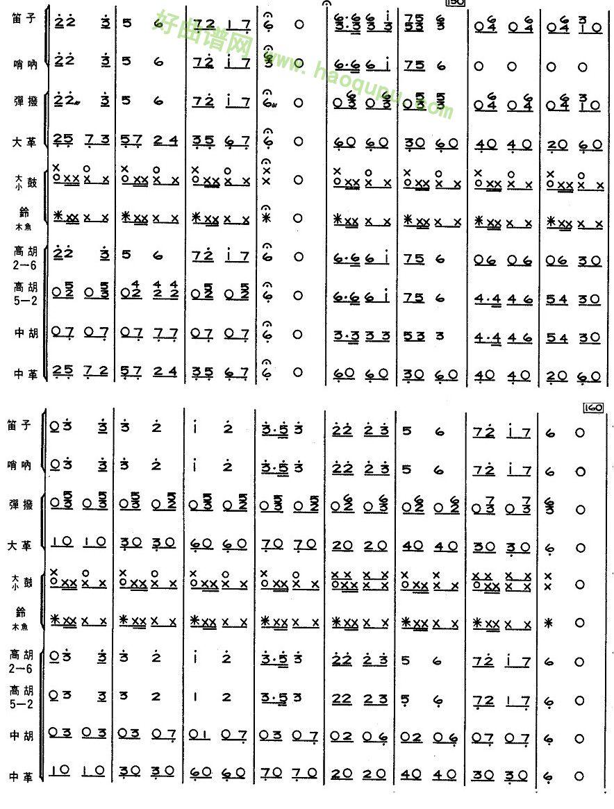 《新疆舞曲》(10) - 管乐总谱