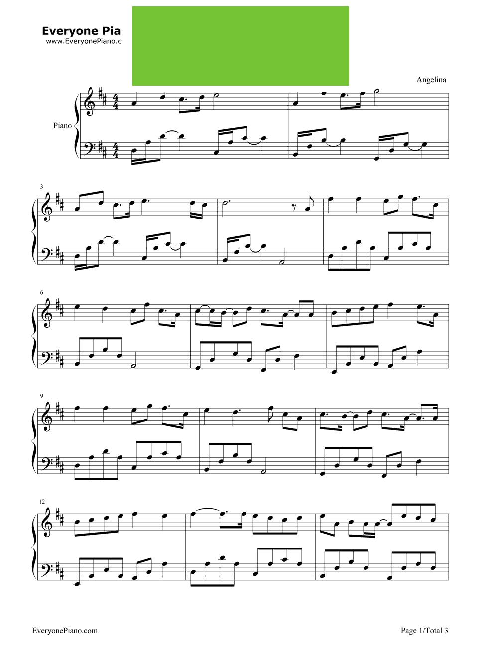 《换季》(金莎演唱) - 钢琴谱图片