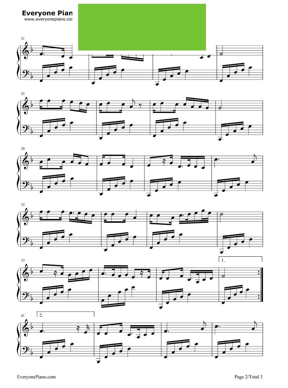 星空钢琴简谱教学