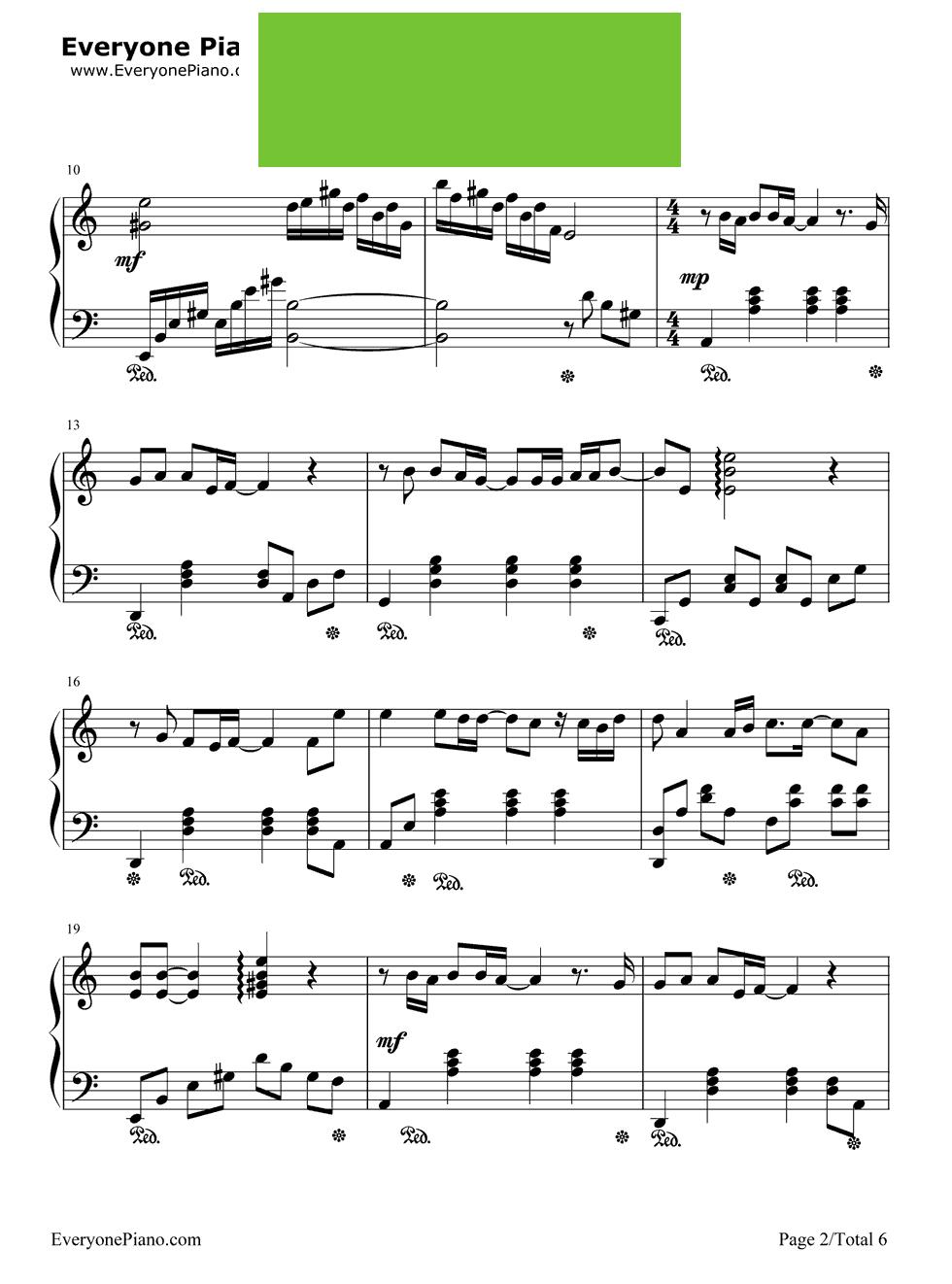 黄品冠演唱 钢琴谱