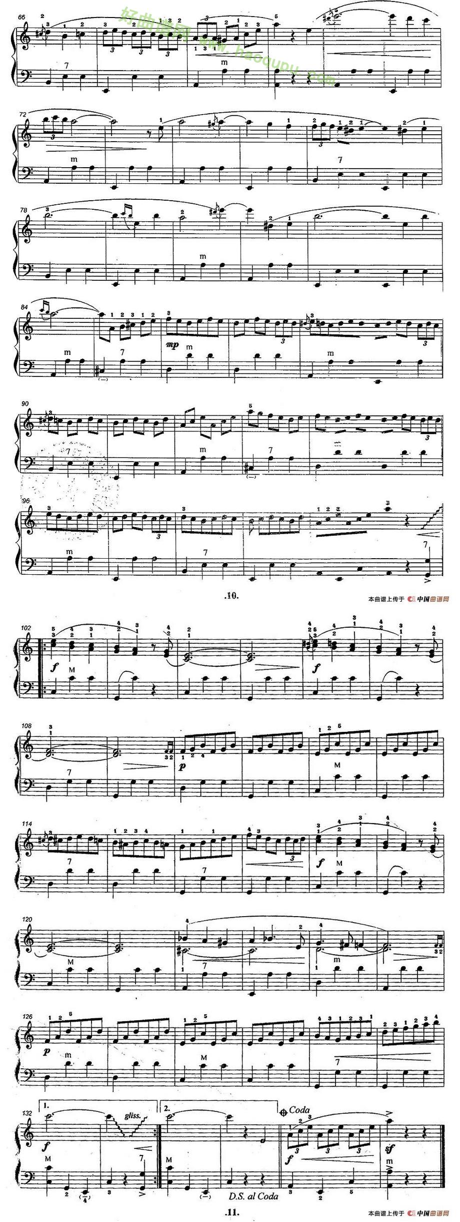 《柯瑞妮》 手风琴曲谱