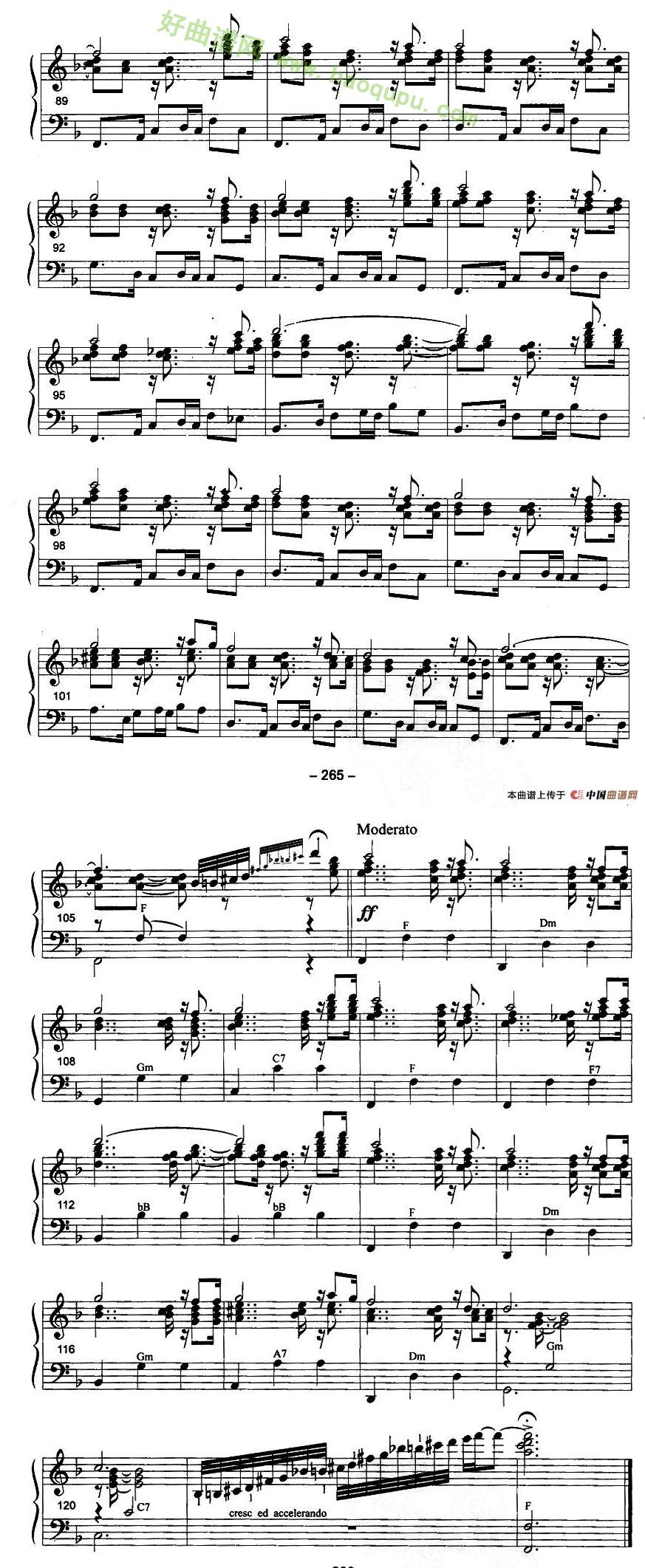 - 手风琴曲谱图片