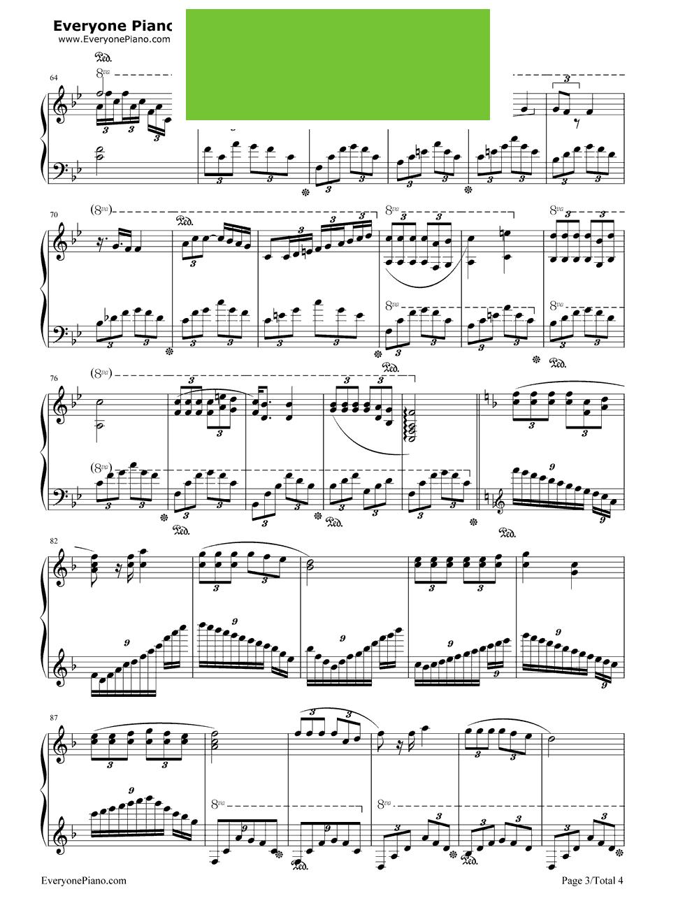 无期伴奏 无期邓紫棋钢琴谱 无期 钢琴 无期钢琴谱