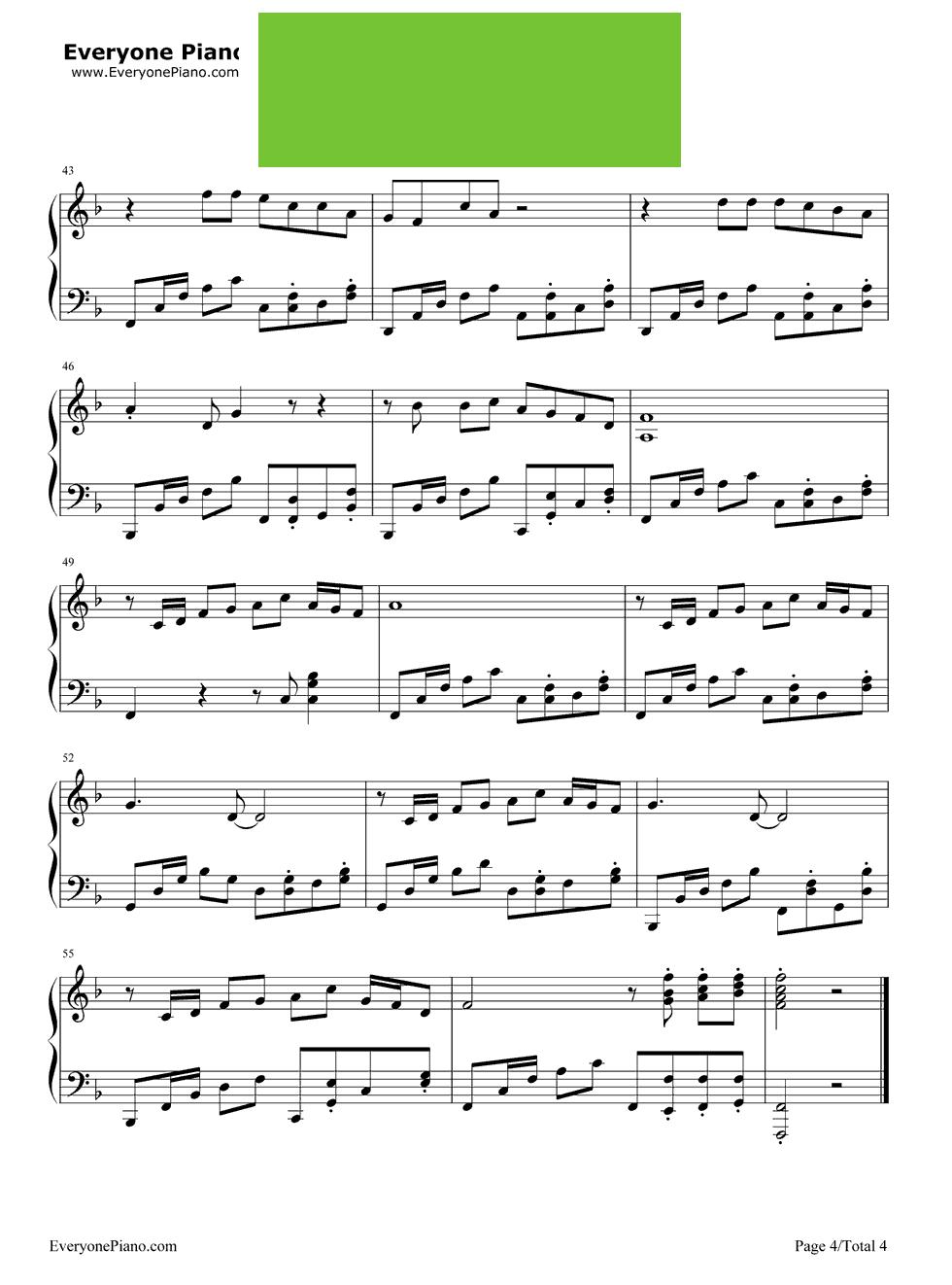 奔跑钢琴简谱