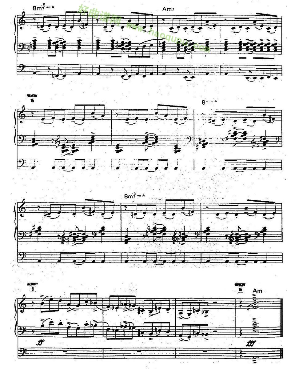 苏莲托 中级班电子琴乐谱