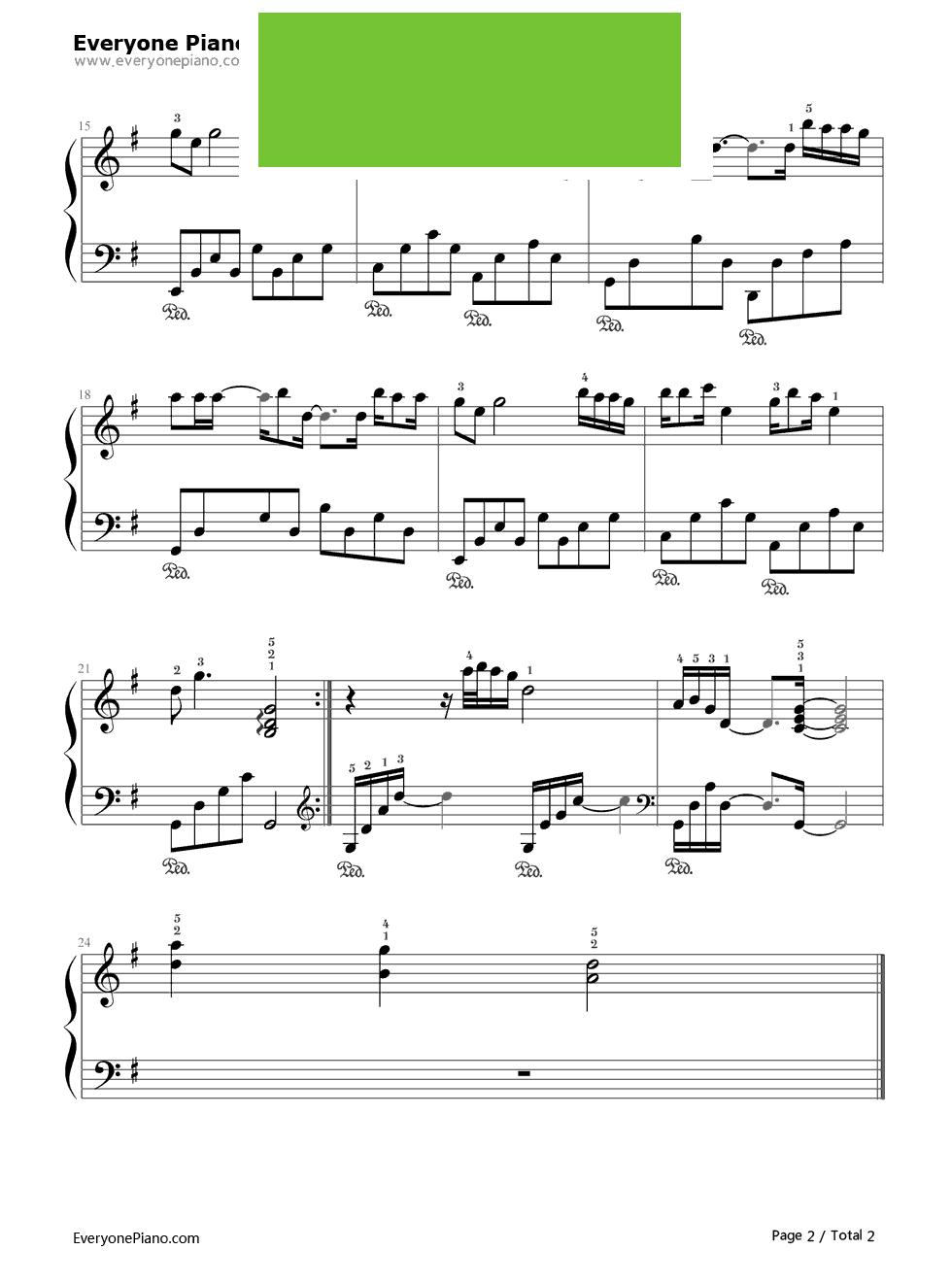 《我是不是你最疼爱的人》(李代沫演唱) 钢琴谱第2张