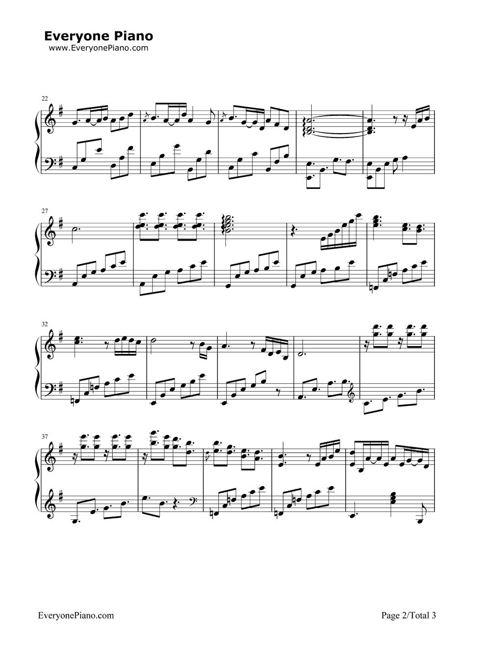 《Romantic Nights》(爱情公寓插曲)钢琴谱第2张