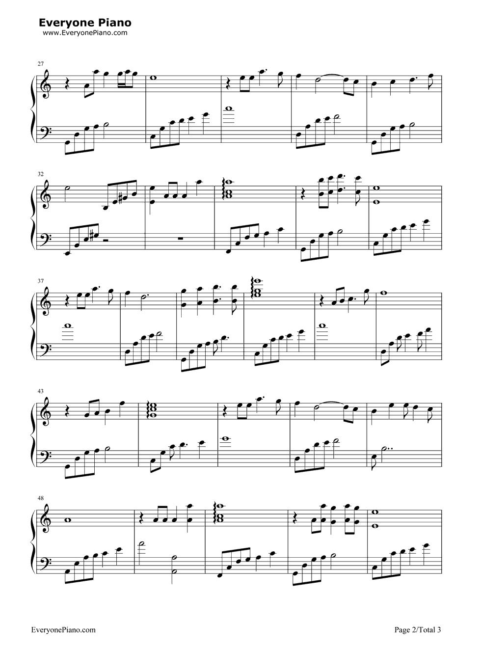 求今生有你歌曲谱子-贝加尔湖古筝曲谱