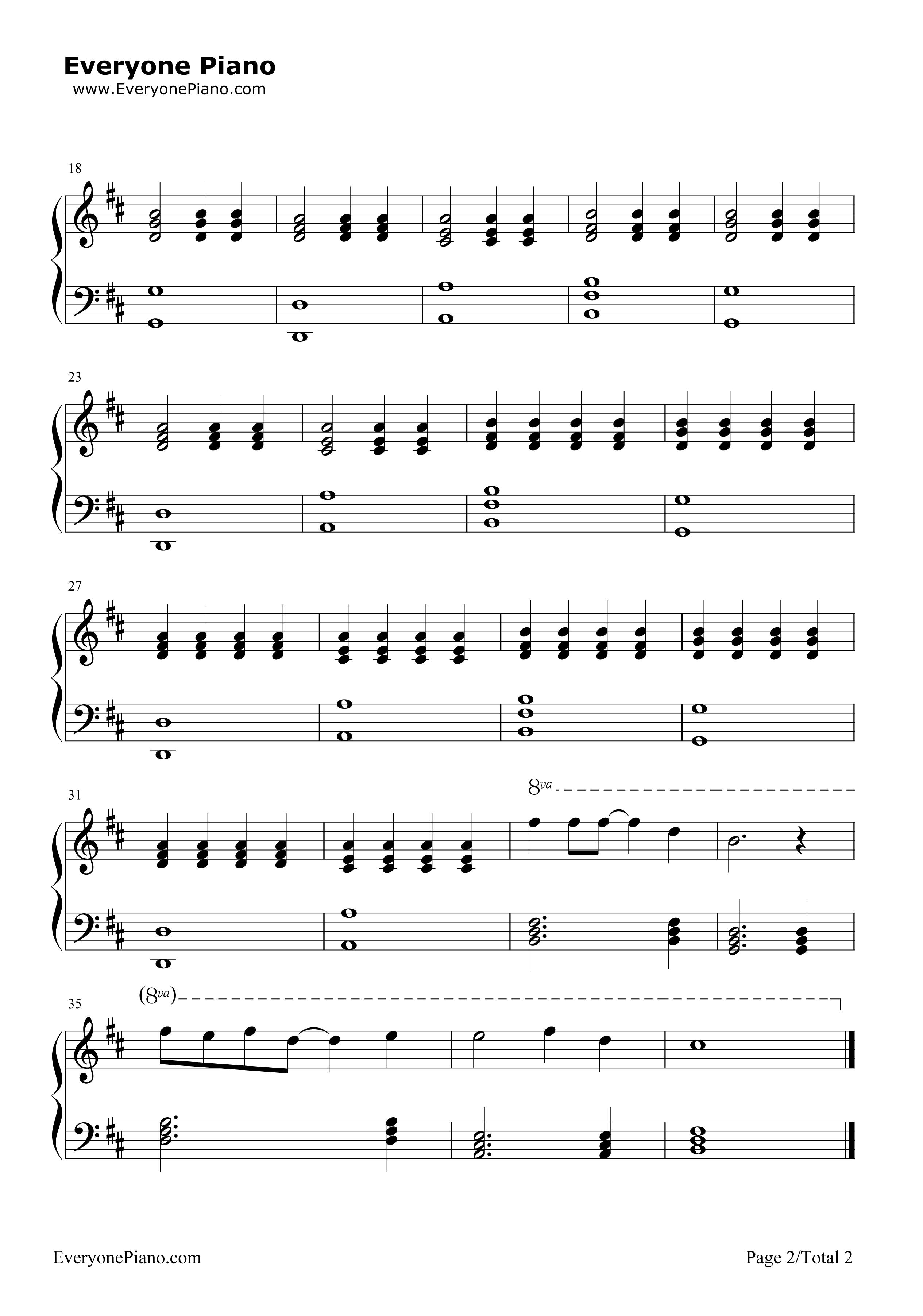 《不要让梦醒来》(戒魔人ED)钢琴谱第2张