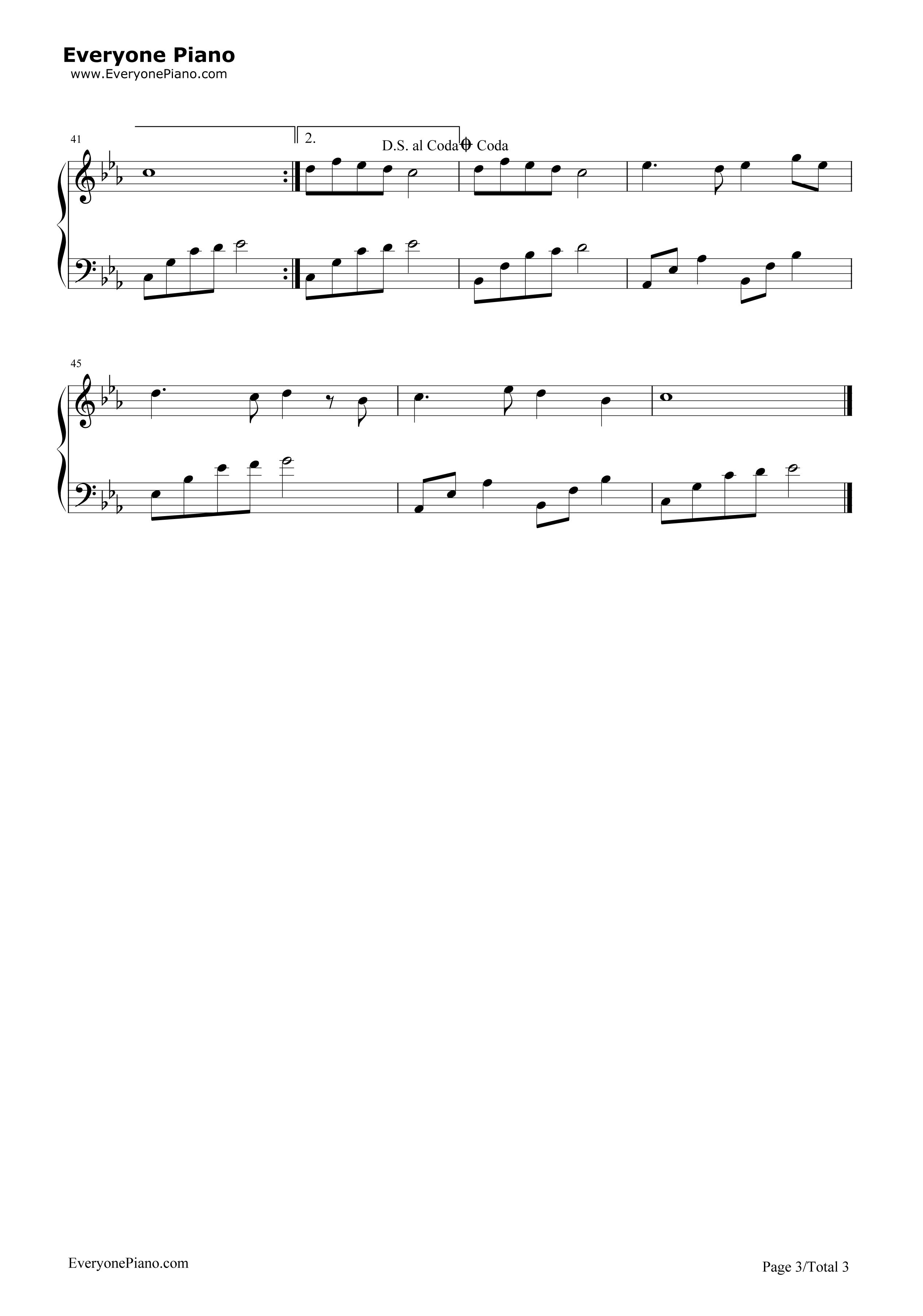 《星愿》(《妈妈让我再爱你一次》主题曲)钢琴谱第3张