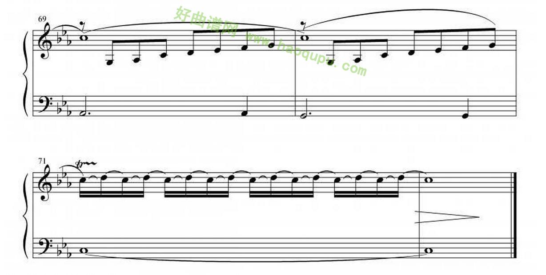 《oblivion》(遗忘)手风琴曲谱第3张