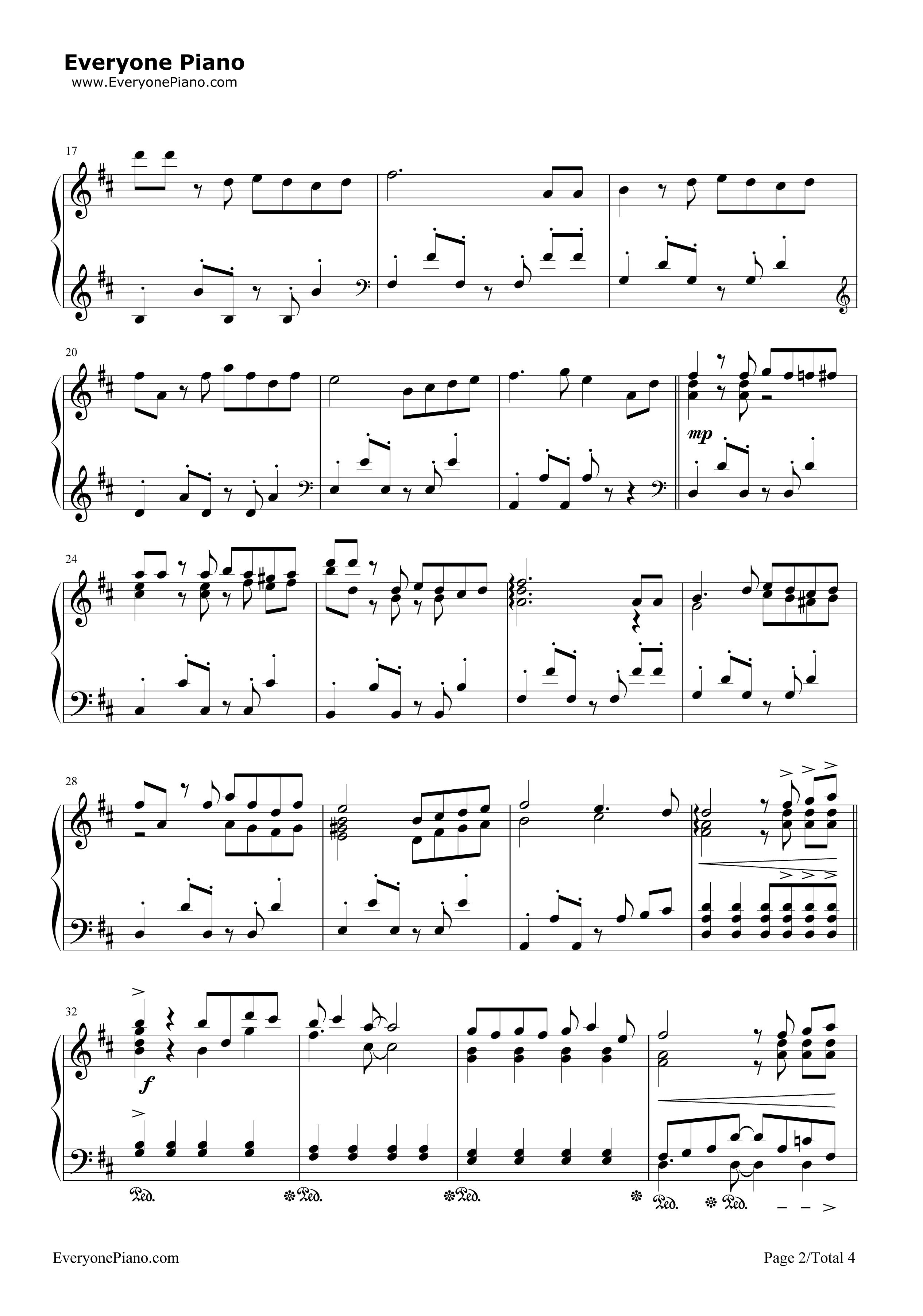 《么么么么哒》(二胎时代主题曲)钢琴谱第2张