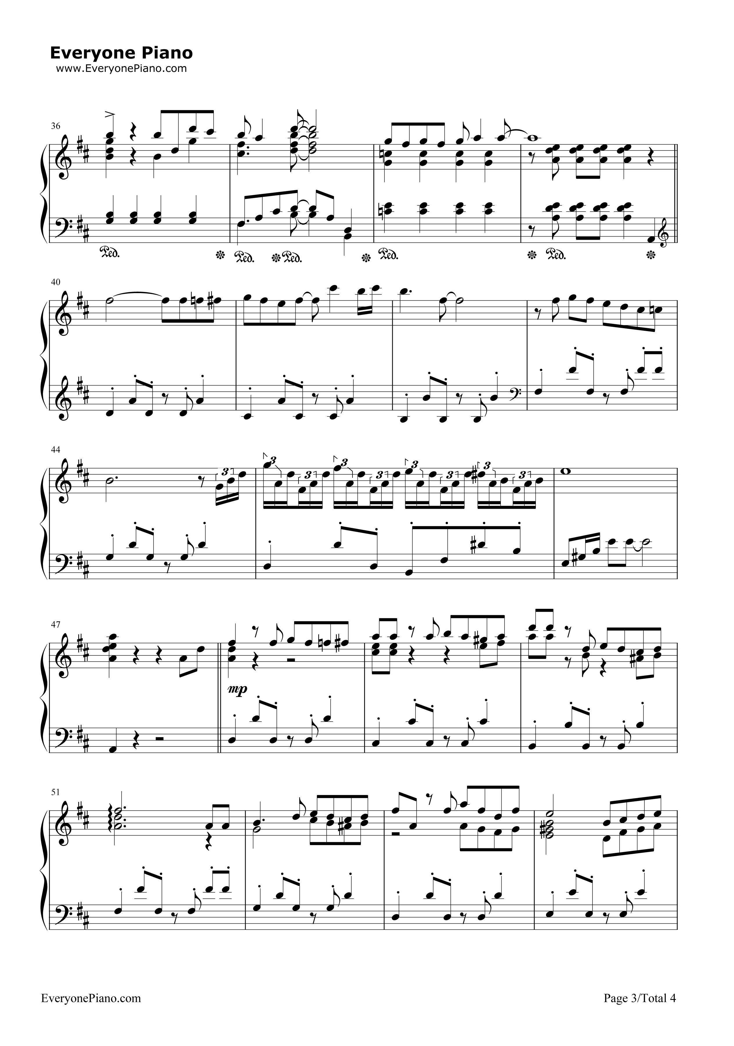 《么么么么哒》(二胎时代主题曲)钢琴谱第3张