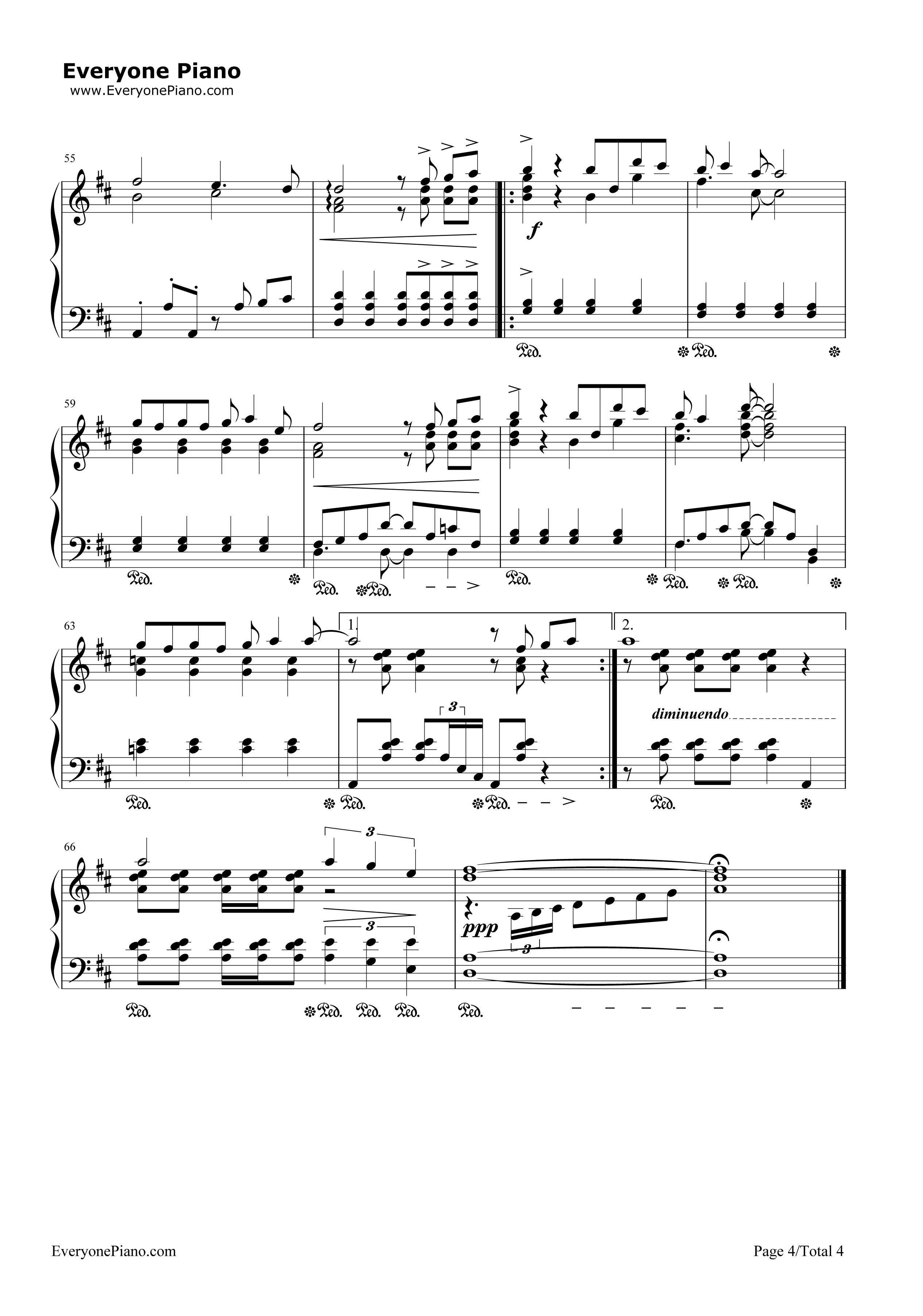《么么么么哒》(二胎时代主题曲)钢琴谱第4张